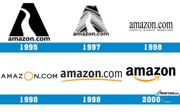 Logo Amazon historia