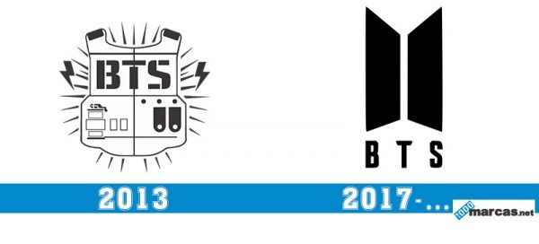 Logo BTS historia