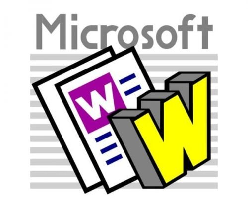 Microsoft Word Logo-1987