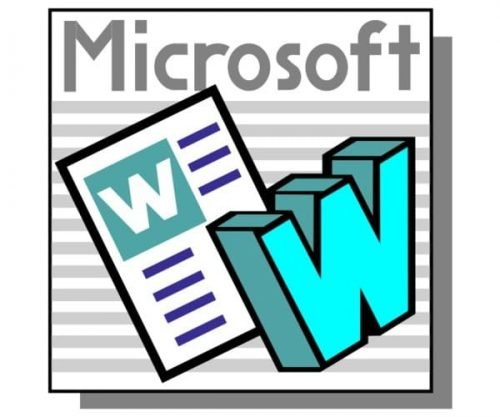 Microsoft Word Logo-1991