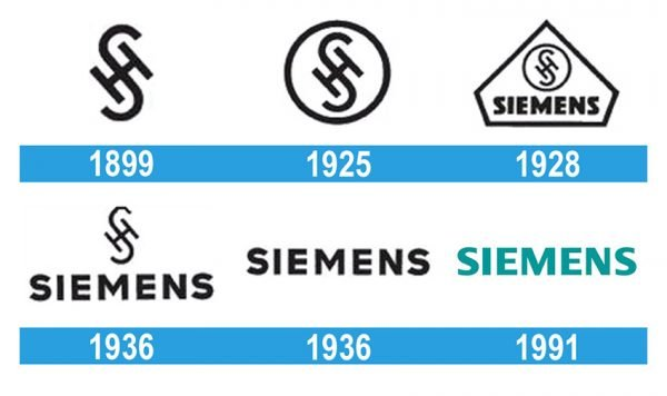 Siemens Logo historia