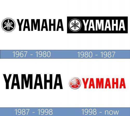 Yamaha Logo historia