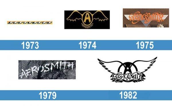 Aerosmith logo historia
