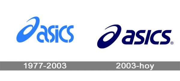 Asics logo historia