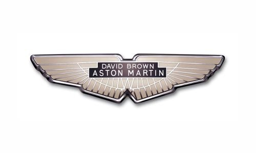 Aston Martin logo 1950