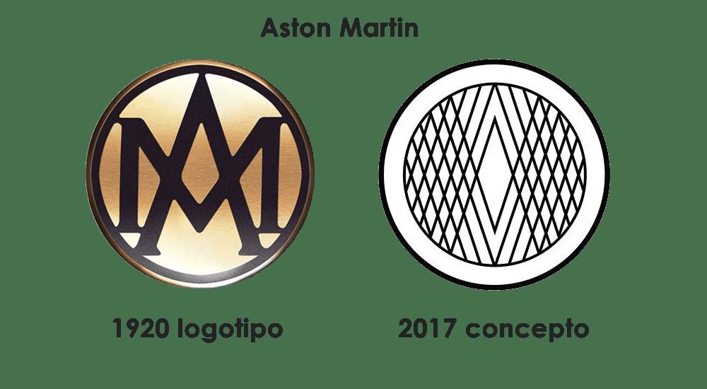 Aston Martin logo 2017 concepto