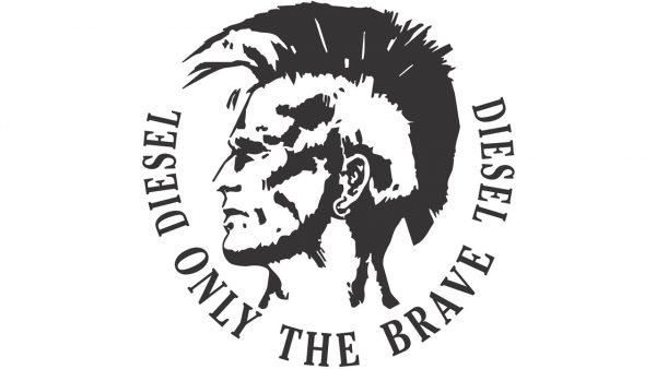 Diesel only the brave logo
