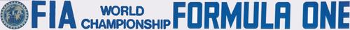 F1 Logo 1985