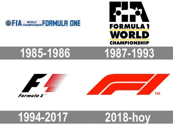 F1 Logo historia