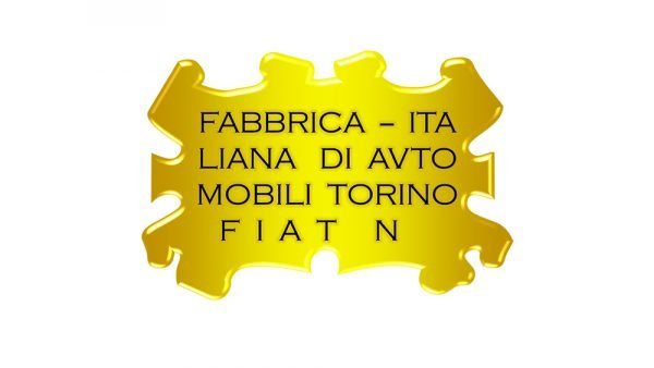 Fiat Logo 1899