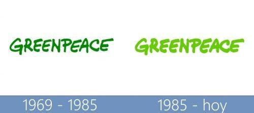 logo Greenpeace historia
