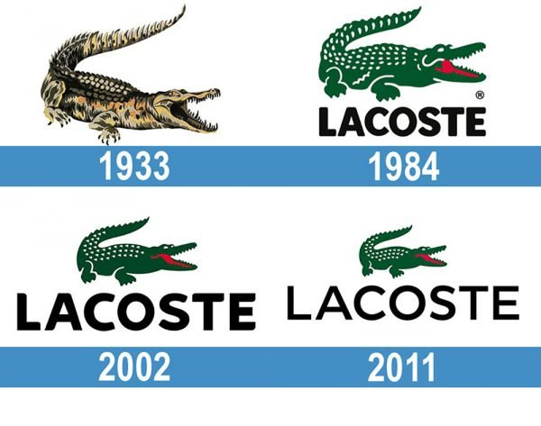Lacoste Logo historia