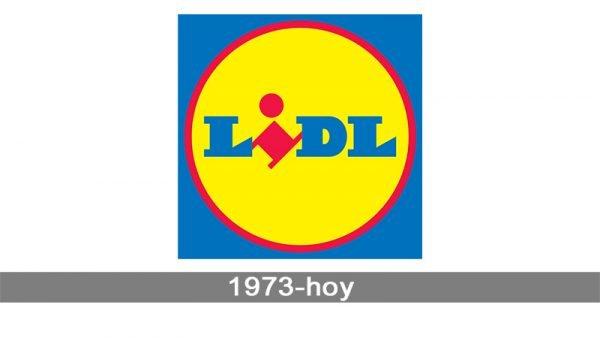 Lidl Logo historia