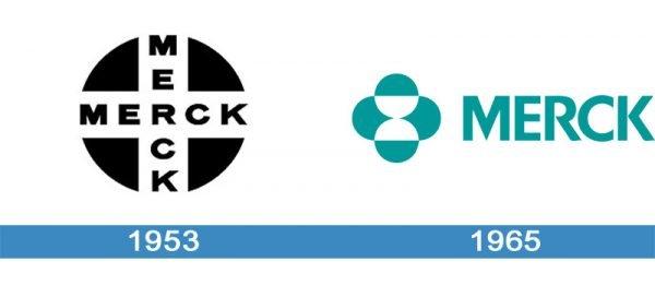 Merck Logo historia
