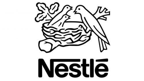 Nestle Logo 1995