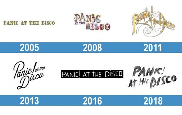 Panic at the Disco Logo historia
