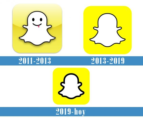 Snapchat Logo historia