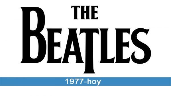 The Beatles logo historia