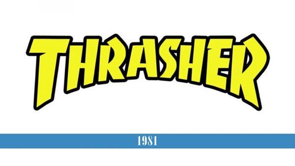 Thrasher Logo historia