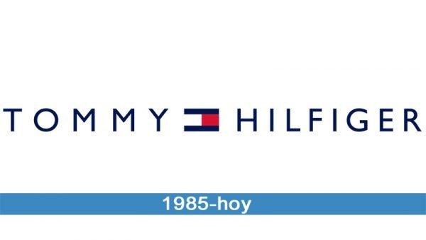 Tommy Hilfiger logo historia