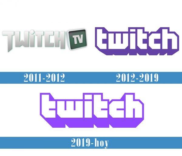 Twitch Logo historia