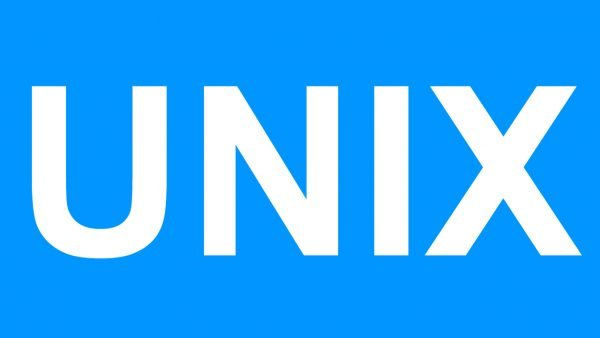Unix logotipo