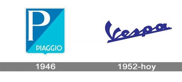 Vespa logo historia
