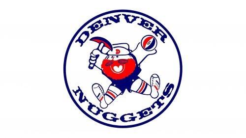 Denver Nuggets Logo 1974