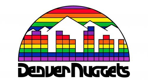 Denver Nuggets Logo 1981