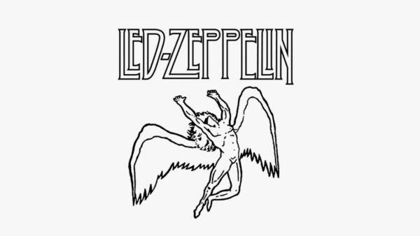 Led Zeppelin Ícaro logo