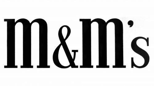 M&M's Logo 1941