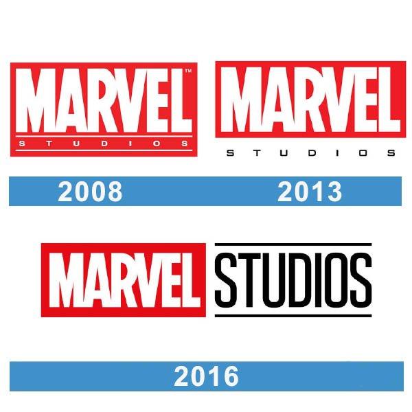 Marvel logo historia