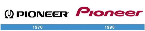 Pioneer Logo historia