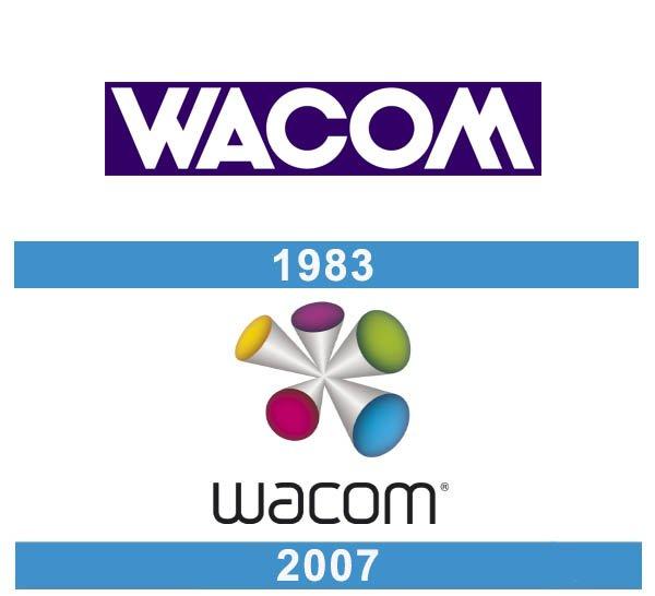 Wacom logo historia