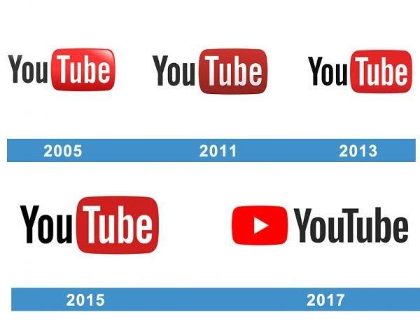 YouTube logo historie