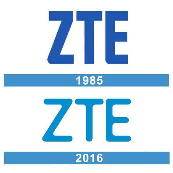 ZTE logo historia