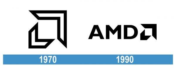 AMD Logo historia