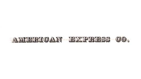 American Express Logo 1853