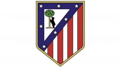 Atlético Madrid Logo 1970