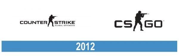 CSGO logo historia