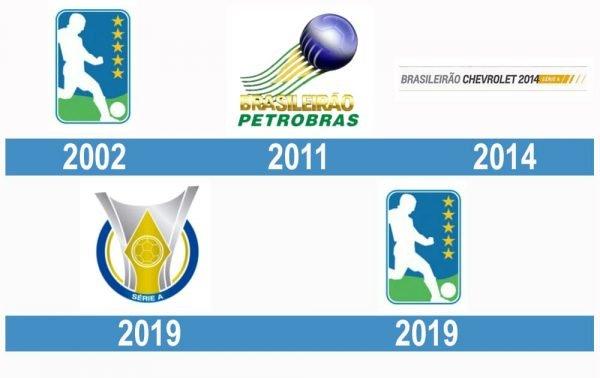 Campeonato-Brasileiro Série A logo historia