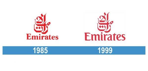 Emirates Logo historia