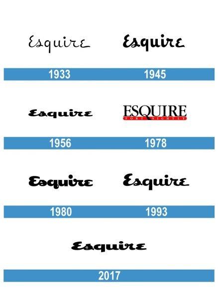 Esquire Logo historia