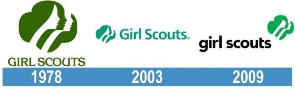 Girl Scout logo historia