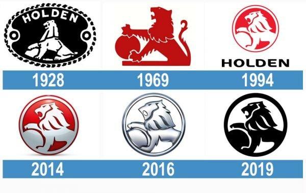 Holden logo historia