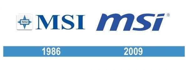 MSI Logo historia