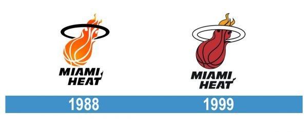 Miami Heat Logo historia