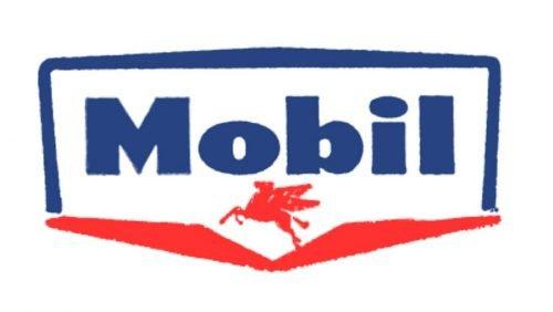 Mobil Logo 1955
