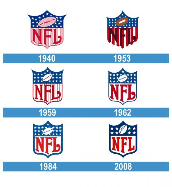 NFL Logo historia