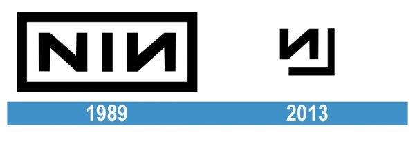 Nine Inch Nails Logo historia